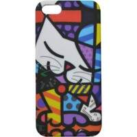 Capa Romero Britto Cat para iPhone 5