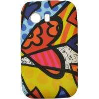 Capinha Romero Britto A New Day para Samsung Galaxy Y