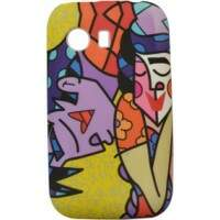 Capinha Romero Britto Couple para Samsung Galaxy Y