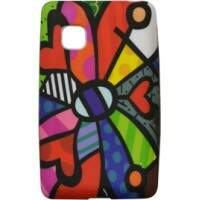 Capinha Romero Britto Butterfly para LG T375
