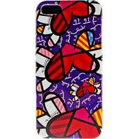 Capa para iPhone 5 Romero Britto Heart