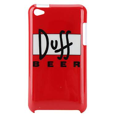 Capa Duff Beer Rígida para iPod Touch