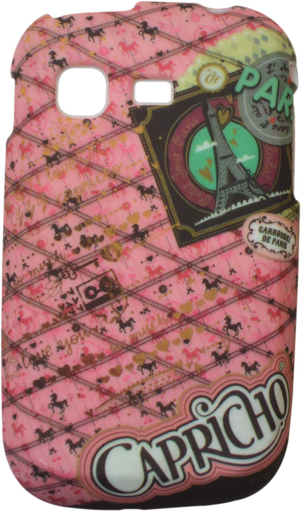 Capa para Samsung Galaxy Pocket Capricho Paris