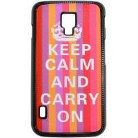 Capa para LG Optimus L7 II Keep Calm Listras