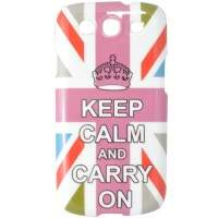 Capa para Samsung Galaxy S3 Keep Calm Colorida