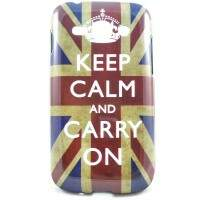 Capa para Samsung Galaxy S2 Duos TV Keep Calm