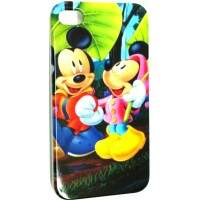 Capa Minnie e Mickey - Capinha para iPhone 4 e 4S