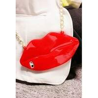 Capa para iPhone 4/4S Luxo Victoria Secrets Sexy Lips Bag