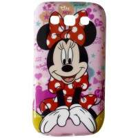 Capa para Samsung Galaxy Win Minnie Rosa