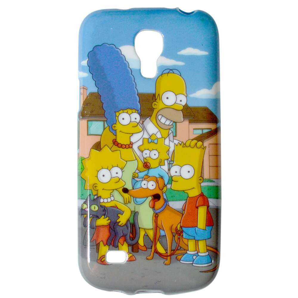 Capa para Samsung Galaxy S4 Mini Simpsons Family