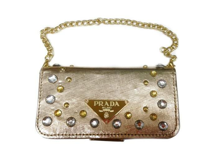 Capa para Iphone 5/5S Estilo Prada Bag