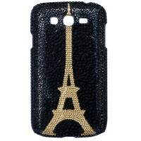 Capa para Samsung Galaxy Grand Duos Paris Strass