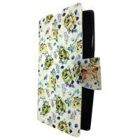 Capa Flip para Apple iPhone 4/4S Floral 1