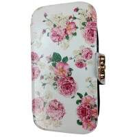 Capa Flip para Apple iPhone 4/4S Floral 2