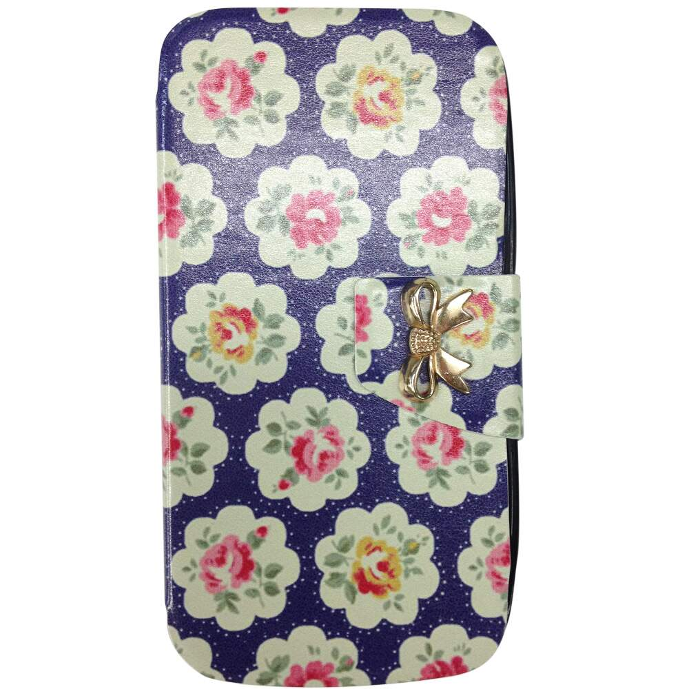 Capa Flip para Apple iPhone 5/5S Floral 5