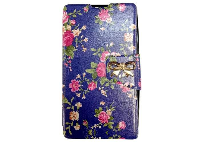 Capa Flip para Apple iPhone 5/5S Floral 3
