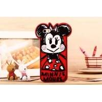 Capa para iPhone 5/5S Estilo Disney Cute Minnie