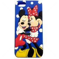 Capa para iPhone 4/4S Mickey e Minnie