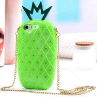Capa para iPhone 5c Abacaxi Bag 3D