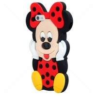 Capa para iPhone 5/5S Estilo Disney Minnie 3D