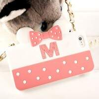 Capa para iPhone 4/4S Estilo Disney Bag Minnie