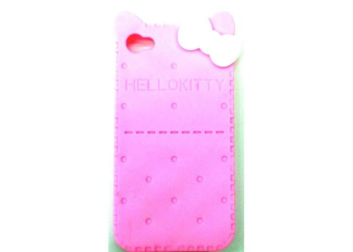 Capinha para iPhone 4/4S Bolacha Hello Kitty