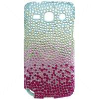 Capa Rígida Degradê Strass para Samsung Galaxy Core Plus