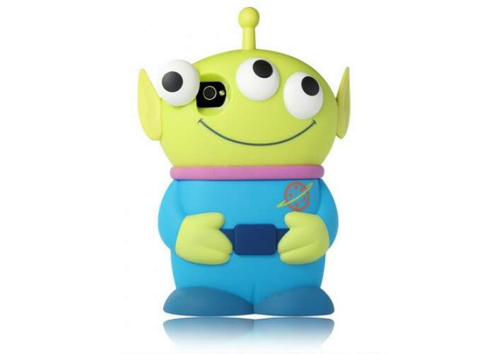 Capinha Alien Toy Story Silicone iPhone 4/4S