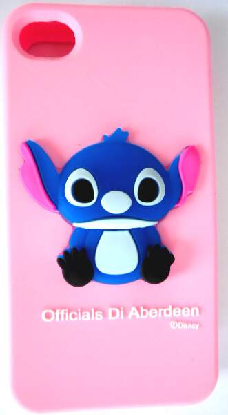 Capinha para iPhone 4/4S Stitch Officials Silicone