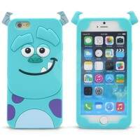 Capa de Silicone Sulley 3D para iPhone 6