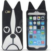 Capa de Silicone Estilo Marc Jacobs Dog para iPhone 6