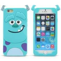 Capa de Silicone Sulley 3D para iPhone 4/4S