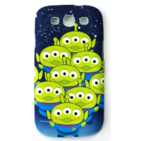 Capinha para Samsung Galaxy S3 Aliens Toy Story Silicone