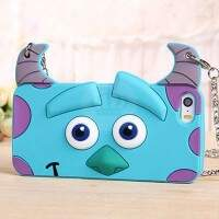 Capa de Silicone Bag para iPhone 5/5S Sulley 3D