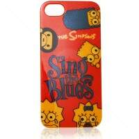 Capa de Silicone The Simpsons Blues para iPhone 5/5S