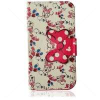 Capa Carteira Estilo Minnie 3 para iPhone 5/5S