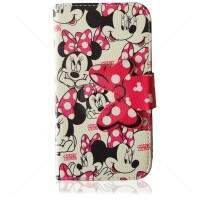 Capa Carteira Estilo Minnie 2 para iPhone 5/5S