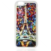 Capa de Silicone Paris Colorida para iPhone 6