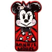 Capa de Silicone Cute Minnie para iPhone 6/6 Plus