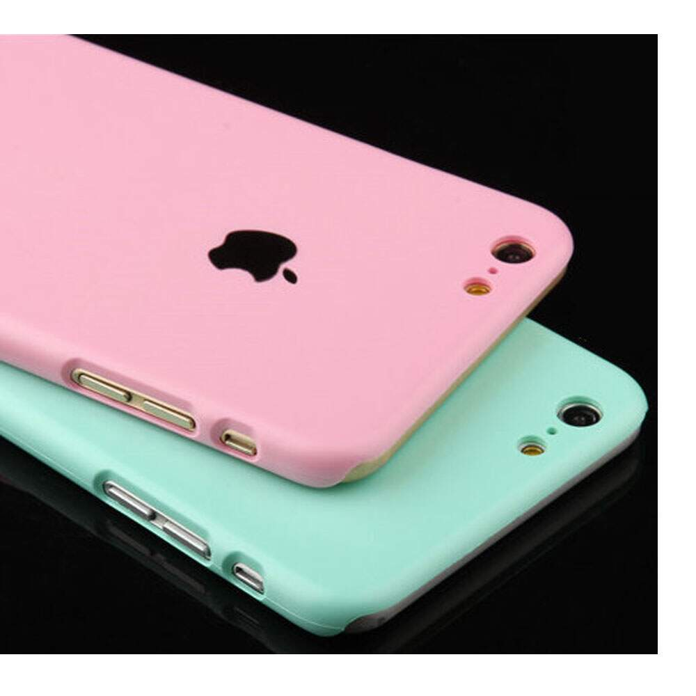 64befcf7d ... Capa Rígida Candy Color para iPhone 4 4S 5 5S 6  ...