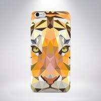Capa Personalizada Tigre para iPhone 5/5S/5c/6/6 Plus e Galaxy S5