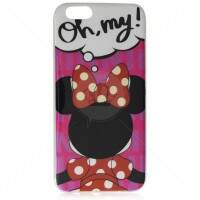 Capa de Silicone Minnie Oh My! para iPhone 6