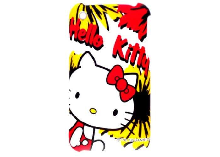 Capinha para iPhone 3G Hello Kitty Rígida