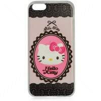 Capa de Silicone Hello Kitty Moldura para iPhone 5c