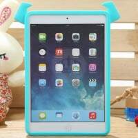 Capa de Silicone Sulley 3D para iPad Air/Mini/2/3/Novo iPad