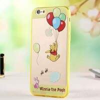 Capa de Silicone Transparente Pooh para iPhone 6/6 Plus