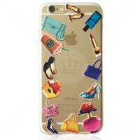 Capa de Silicone Transparente para iPhone/Galaxy/Motorola Fashion 3