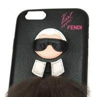 Capa Rígida Estilo FENDI Karl Lover para iPhone 4/4S/5/5S/6/6 Plus