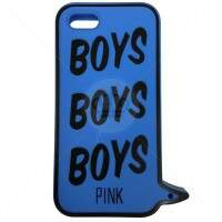 Capa Estilo PINK Victorias Secret Boys para iPhone 5/5S