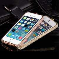 Bumper Luxo Strass para iPhone 6/6 Plus